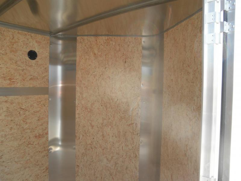 2020 H&H 6x10 Enclosed Cargo Trailer