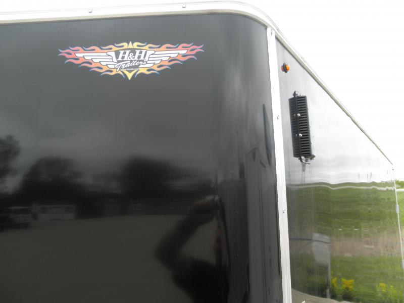 2020 H&H 7x16 Enclosed Cargo Trailer 7K