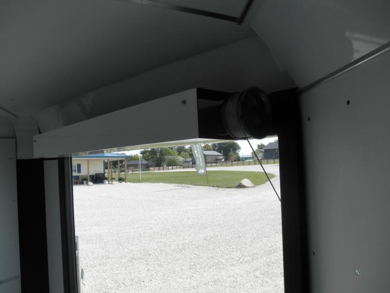 2021 H&H Trailer 101x22 Combo Series Sled Car Hauler Enclosed Trailer 10K (H10122COSN-100) Snowmobile Trailer