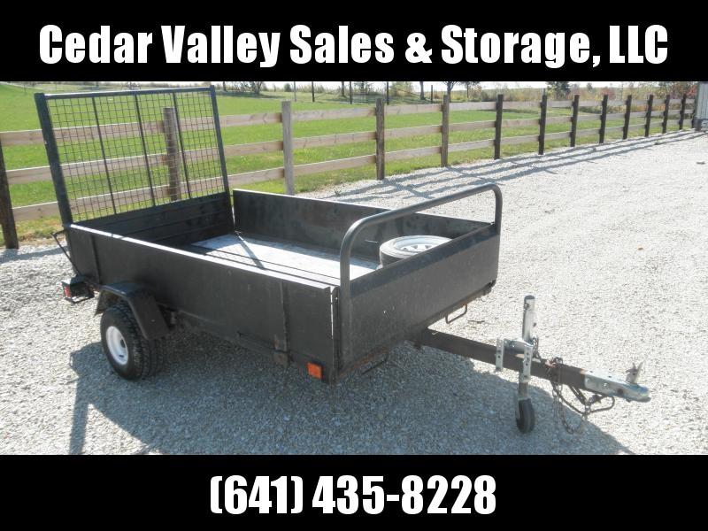 "2003 Snowbear 54"" x 8' tilt bed utility trailer"