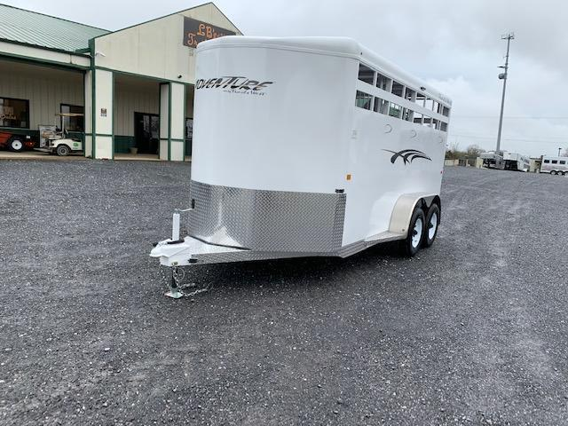 2021 Trails West Adventure II-3 Horse Horse Trailer