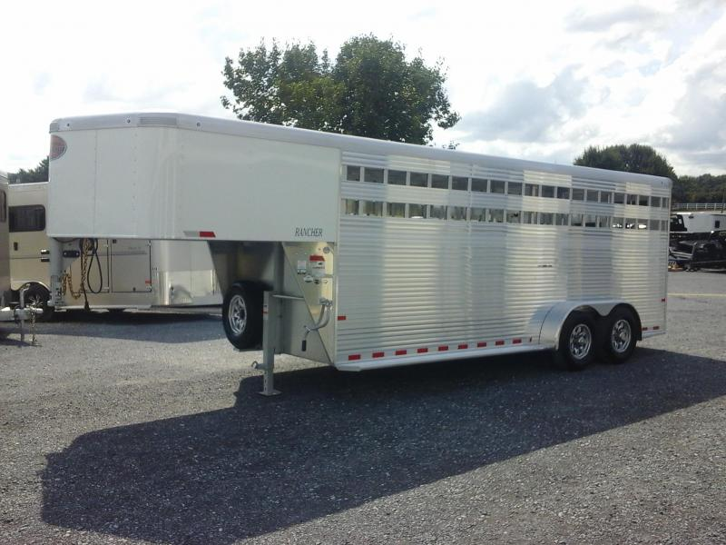 2019 Sundowner 20ft Rancher Livestock Trailer