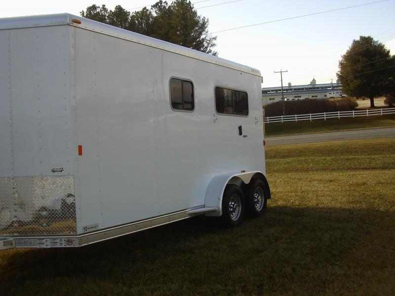 2015 Exiss 2H ST BP DR Horse Trailer