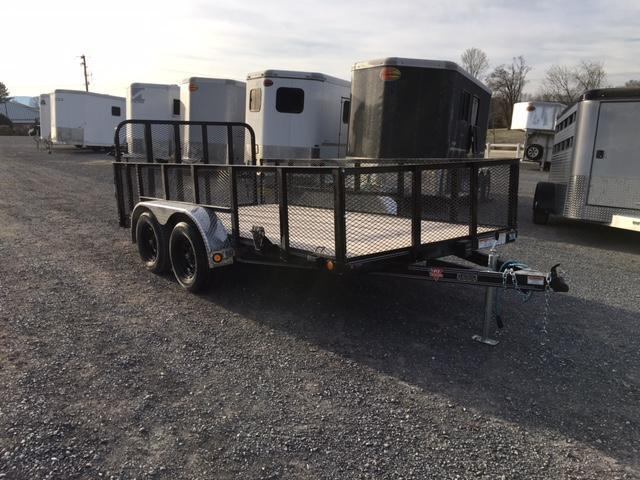 "2021 PJ Trailers 14' x 83"" Tndm Axle Channel Utility Trailer"