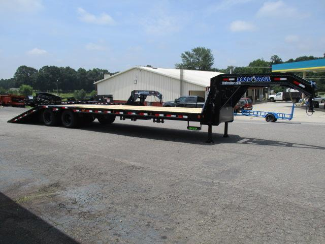 2021 Load Trail 102 x 34 Low Pro w/Hyd Dove Equipment Trailer