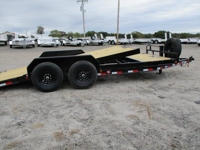 2021 PJ Trailers 20' Tilt Equipment Trailer