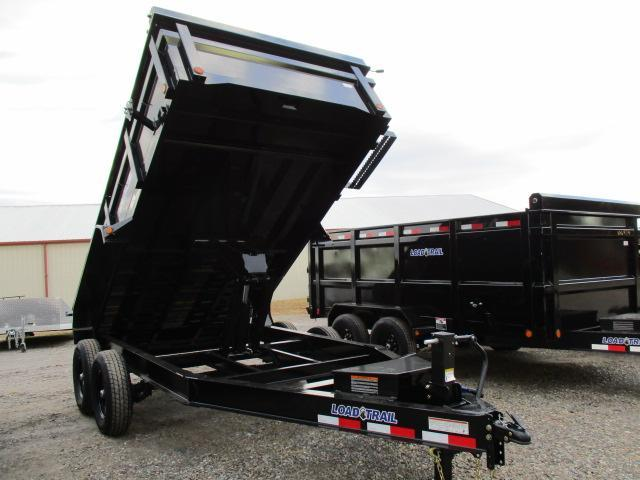 "2021 Load Trail 83 x 14 w/24"" Sides Dump Trailer"