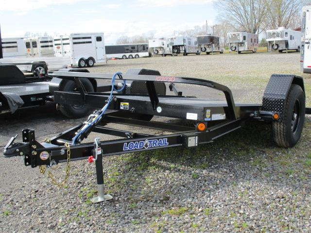 2021 Load Trail 77 x 12 Scissor Hauler Equipment Trailer
