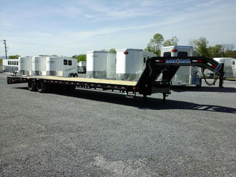 2019 Load Trail 102 x 40 TA Low-Pro Gooseneck Equipment Trailer