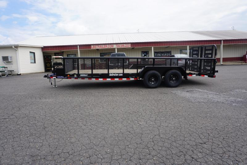 "2021 Load Trail 83""x20' Carhauler w/ Side Rails Car / Racing Trailer"