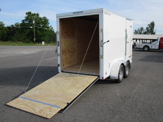 2020 Continental Cargo 6' x 12' Enclosed Trailer