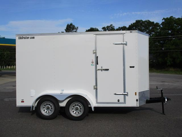 2020 Continental Cargo 6' x 12' Enclosed Trailer