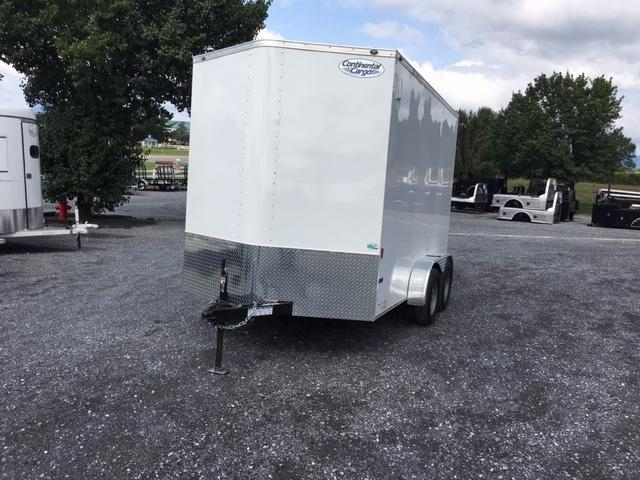 2021 Continental Cargo 712 TA Enclosed Cargo Trailer