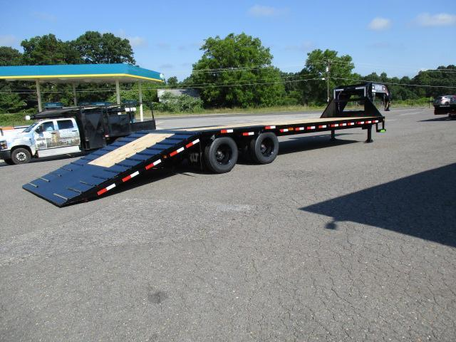 2021 Load Trail 102 X 32 Low Pro w/Hyd Dove Equipment Trailer
