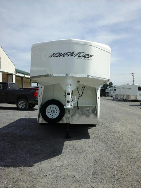 2019 Trails West Manufacturing Adventure MX 2H GN Horse Trailer