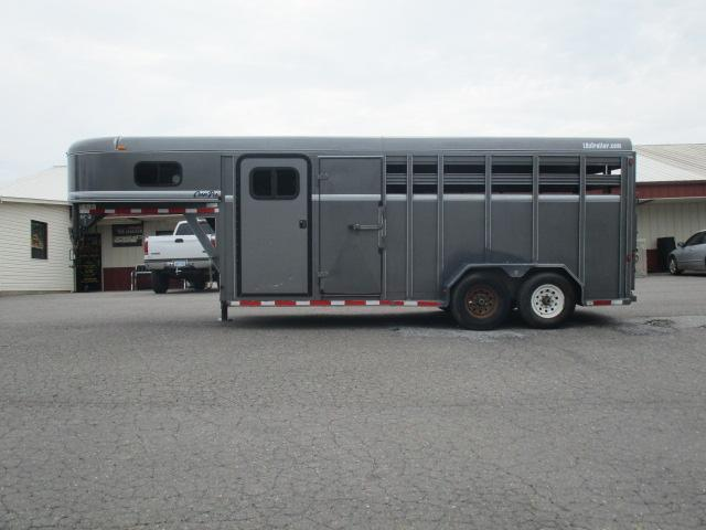 2012 CornPro 18' Stock Combo Livestock Trailer