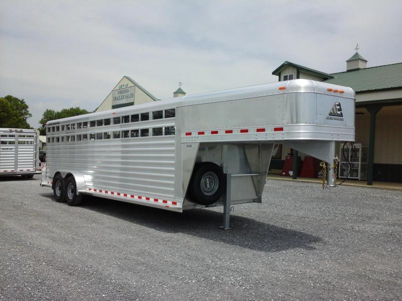 2019 Elite 7x24 GN Livestock Trailer