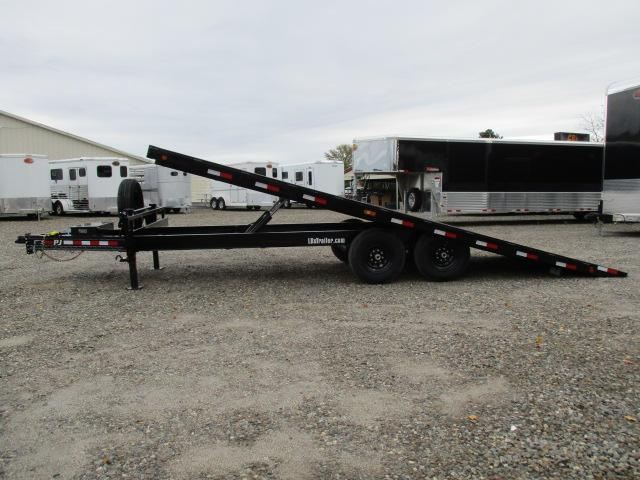 2021 PJ Trailers 22' Tilt Equipment Trailer