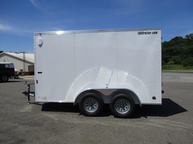 2021 Continental Cargo 7 x 12 Enclosed Cargo Trailer