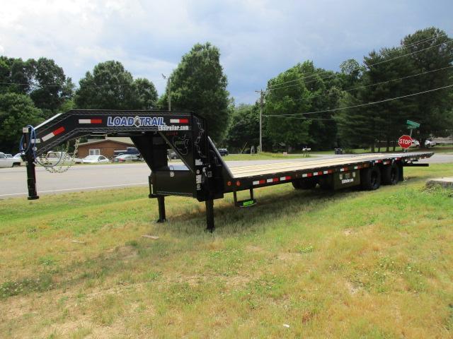2021 Load Trail 102 x 32 Low Pro w/Hyd Dove Equipment Trailer