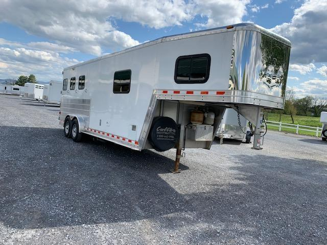 2003 Kiefer Built 3H SL LQ Horse Trailer