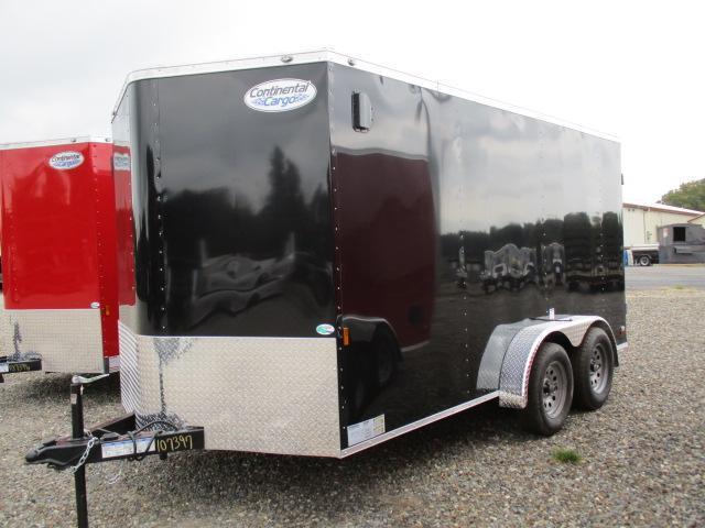 2022 Continental Cargo 7 x 14 Enclosed Cargo Trailer