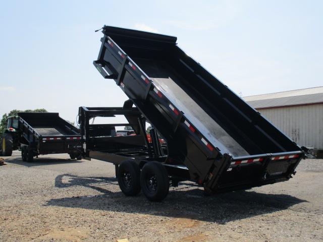 2021 Load Trail GN 83 x 16 w/24in Sides Dump Trailer