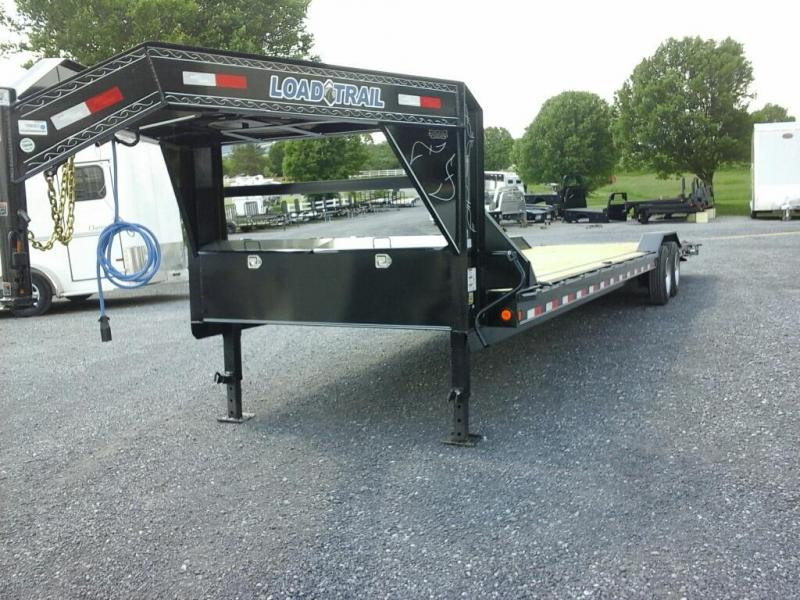 2019 Load Trail 102 x  34 TA GN Car hauler Utility Trailer