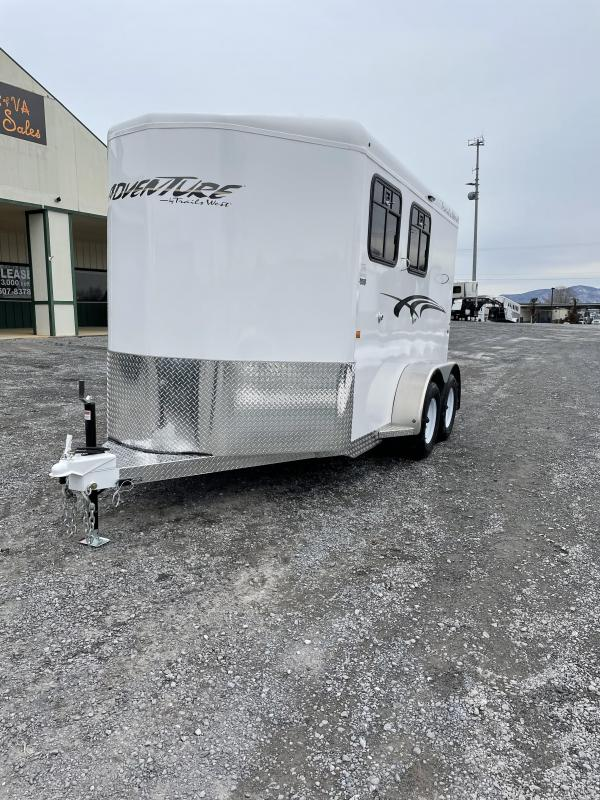 2021 Trails West Adventure MX II 2H BP Horse Trailer