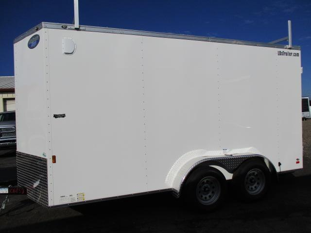 2021 Continental Cargo GANS714 Enclosed Cargo Trailer