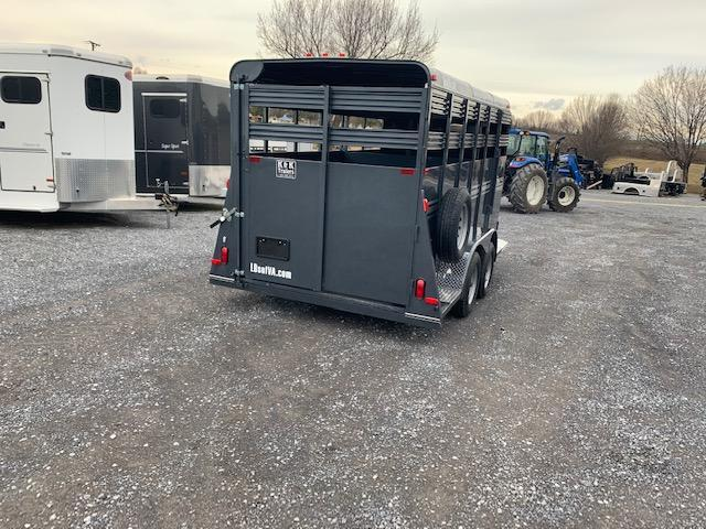 2021 Bee Trailers 16ft Livestock Trailer