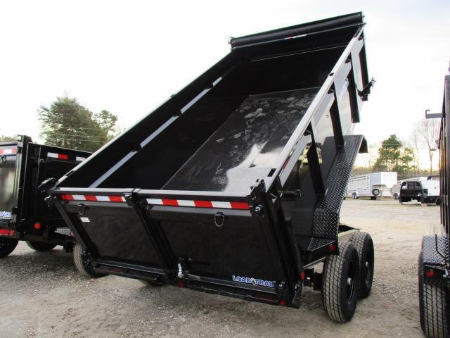 "2021 Load Trail 83 x 14 w/36"" Sides Dump Trailer"