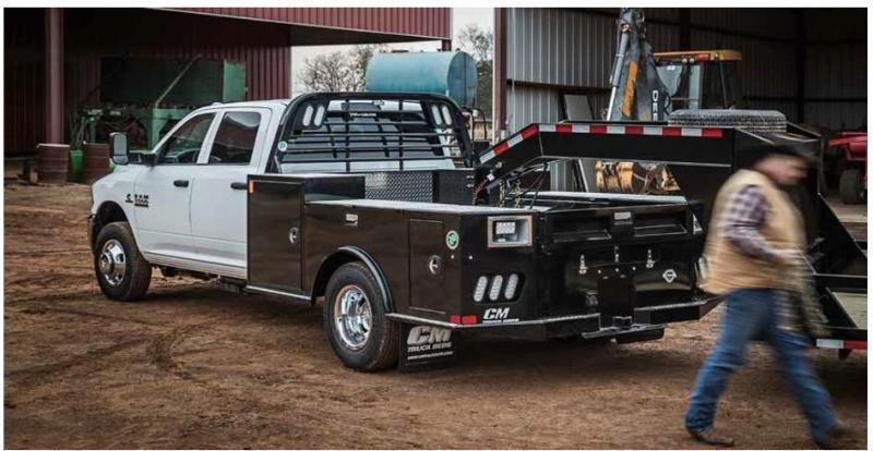 """CM TM DLX2 Truck Bed  FITS: FORD AND RAM 60"""" CA CAB & CHASSIS"""