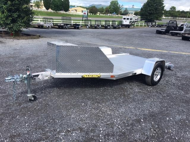 2021 Aluma TK1 Motorcycle Trailer
