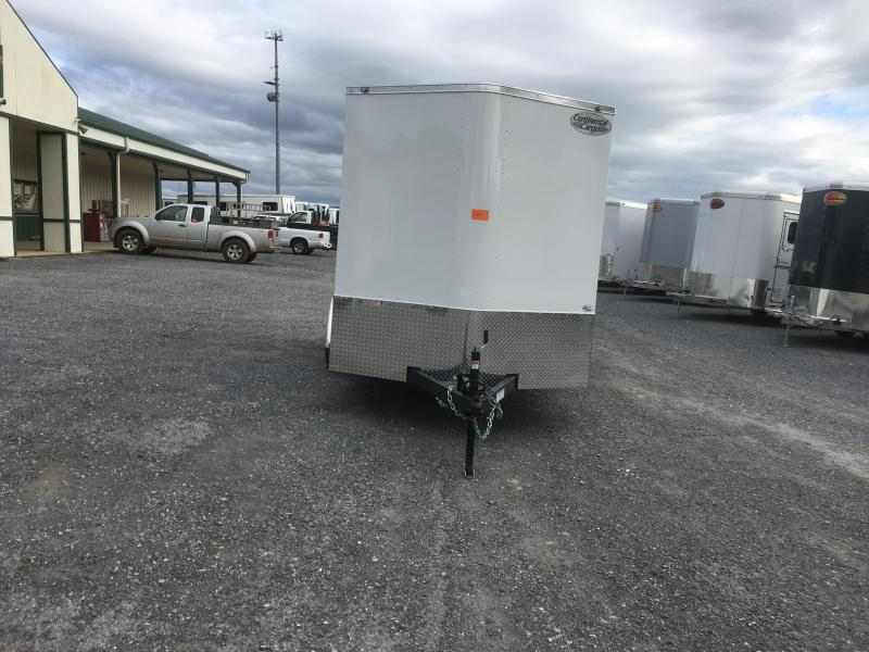 2020 Continental Cargo 7x14 TA Enclosed Cargo Trailer