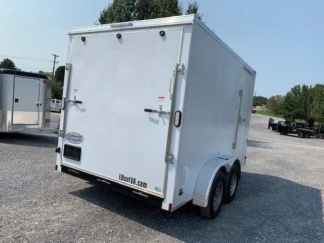 2022 Continental Cargo 7x12 TA Enclosed Cargo Trailer