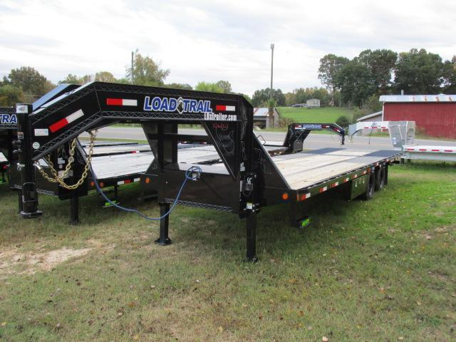 "2021 Load Trail 102"" x 30' Equipment Trailer w/Hydraulic Dove Tail"
