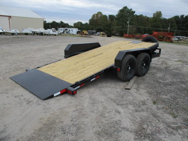 2021 PJ Trailers 16' Tilt Equipment Trailer