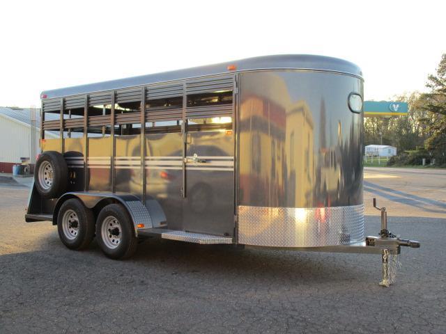2021 Bee Trailers 16' Stock Livestock Trailer