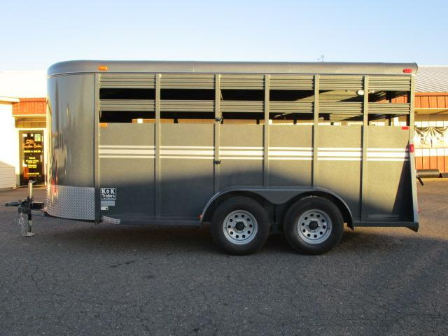 2021 Bee Trailers 16' Stock Livestock Trailer