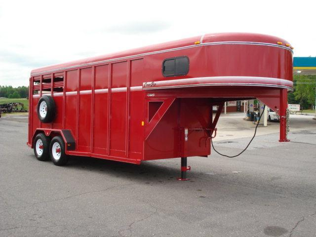2012 CornPro 16ft w/Dress Stock / Stock Combo Trailer