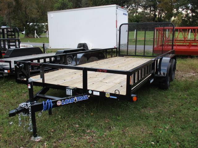 "2021 Load Trail 83""x16' Tandem Axle Utility Trailer"