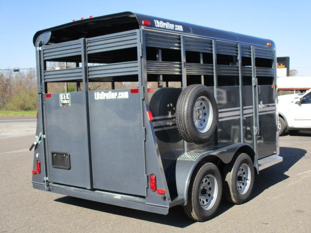 2021 Bee Trailers 14' Stock Livestock Trailer