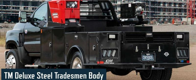 """CM TM DLX2 Truck Bed (Fits Dodge & Ford 84"""" Cab & Chassis)"""