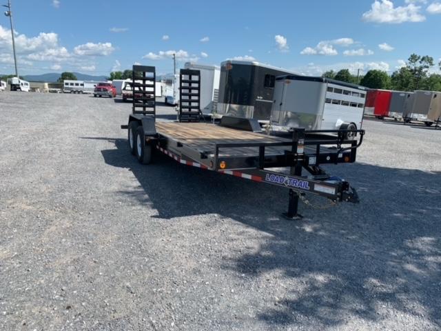 2021 Load Trail 83x20 TA BP Carhauler Utility Trailer