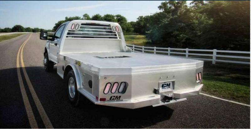 CM ALSK2 Truck Bed Fits: Ford and Ram Cab & Chassis