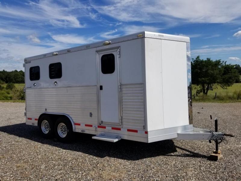 2015 Shetron Manufacturing LLC 2H SL Horse Trailer