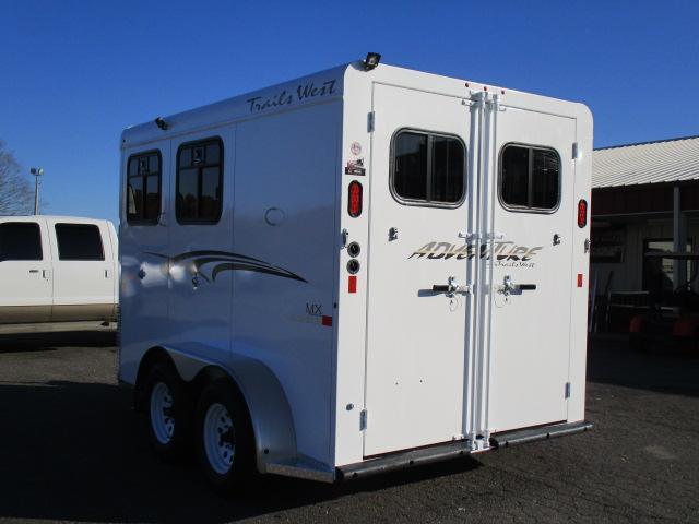 2020 Trails West Manufacturing 2H Adventure II MX Horse Trailer