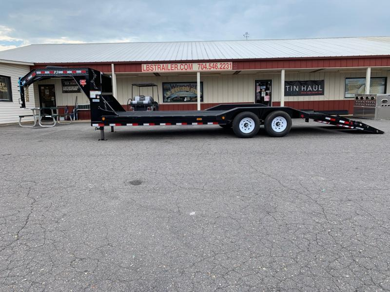 2020 PJ 24 x 6 Channel Super Wide Car / Racing Trailer