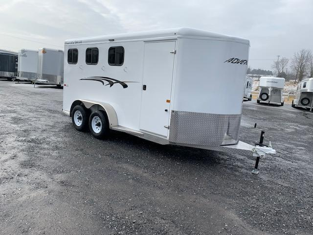 2021 Trails West Adventure MX II 3H Horse Trailer